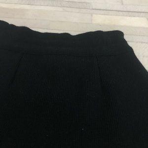 Skirts - Small Black Sweater Skirt